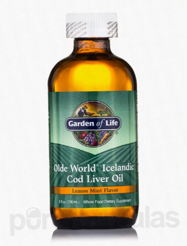 Garden of Life Essential Fatty Acids - Olde World Icelandic Cod