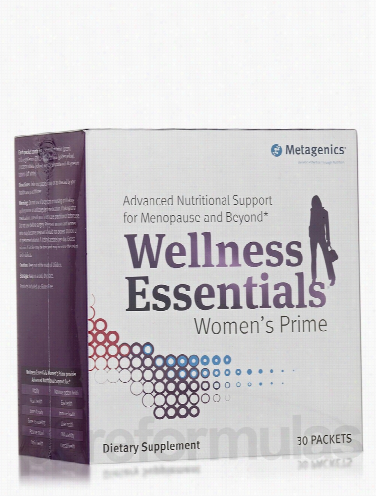 Metagenics General Health - Wellness Essentials Women's Prime - Box of