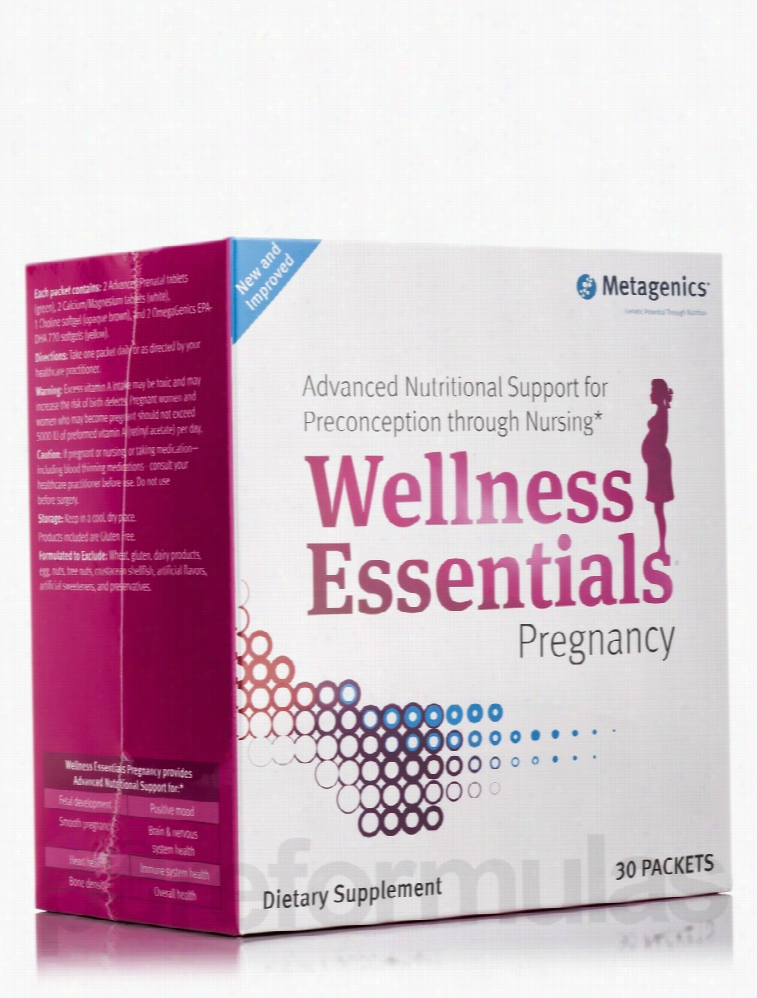 Metagenics Women's Health - Wellness Essentials Pregnancy - Box of 30