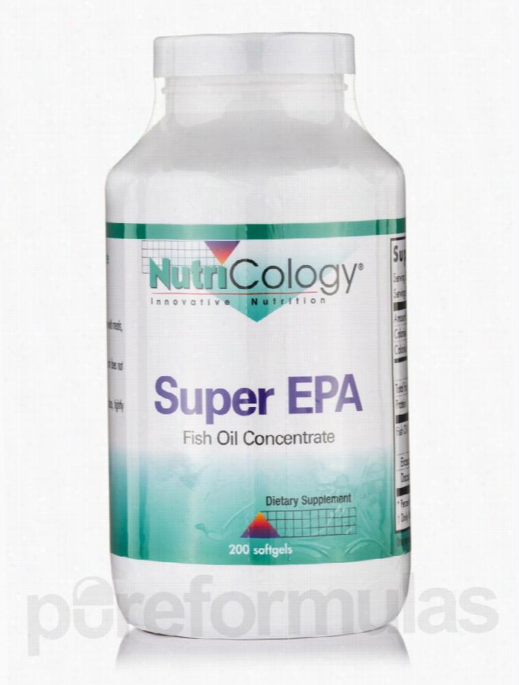 NutriCology Essential Fatty Acids - Super EPA - 200 Softgels