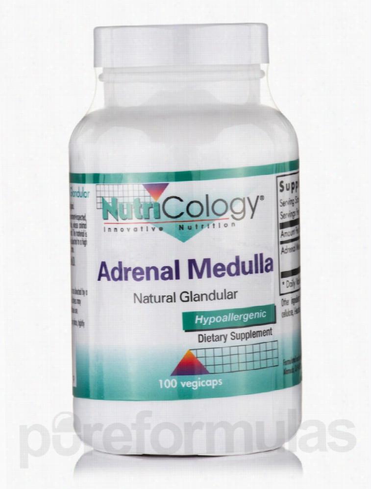 NutriCology Hormone/Glandular Support - Adrenal Medulla - 100 Vegicaps