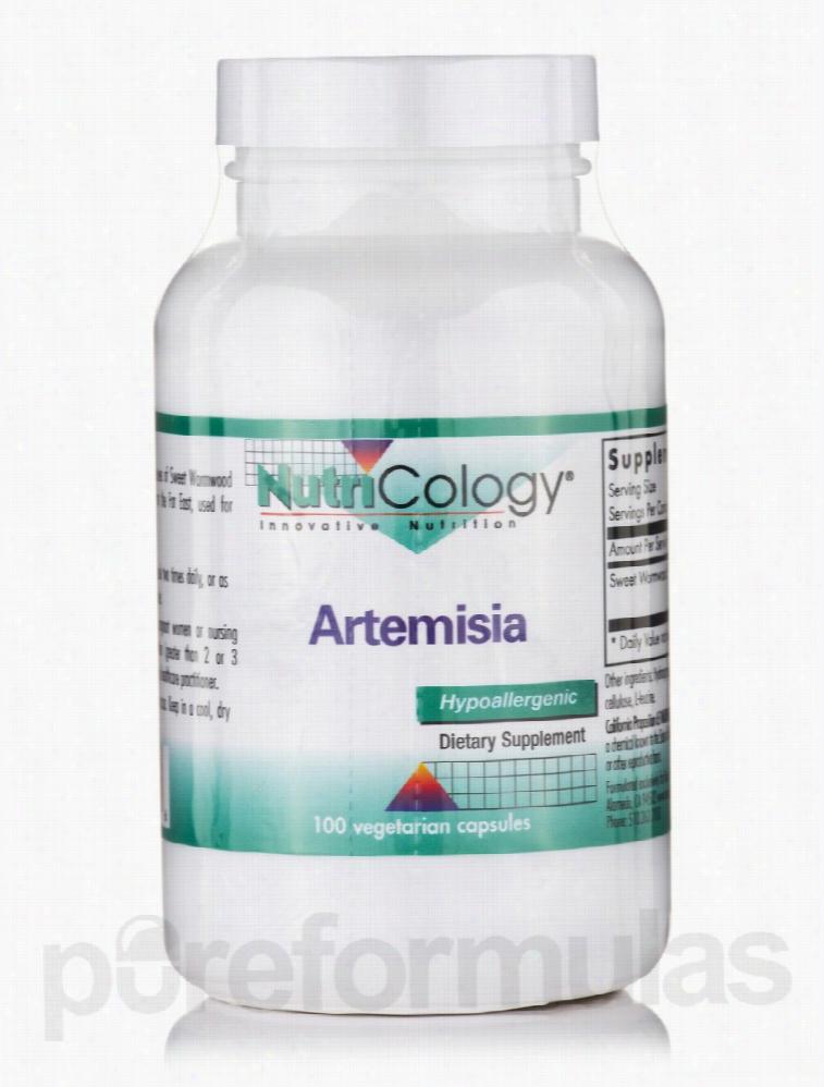 NutriCology Immune Support - Artemisia - 100 Vegetarian Capsules