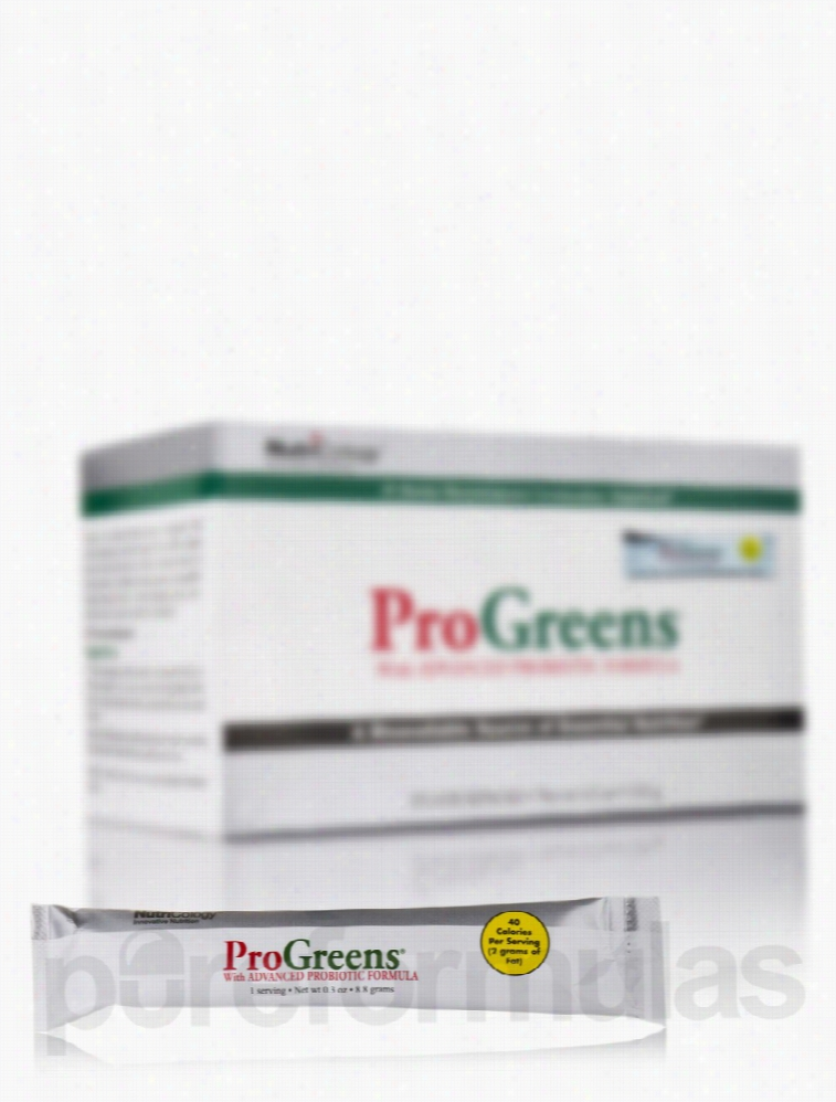 NutriCology Immune Support - ProGreens Stick Pack - Box of 15