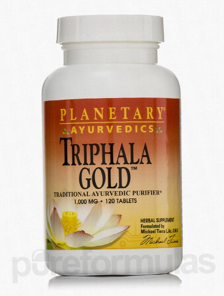 Planetary Ayurvedics Detoxification - Triphala Gold 1000 mg - 120