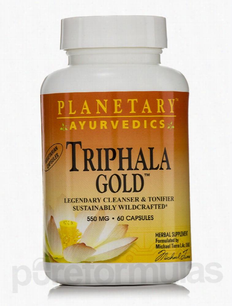 Planetary Ayurvedics Detoxification - Triphala Gold 550 mg - 60
