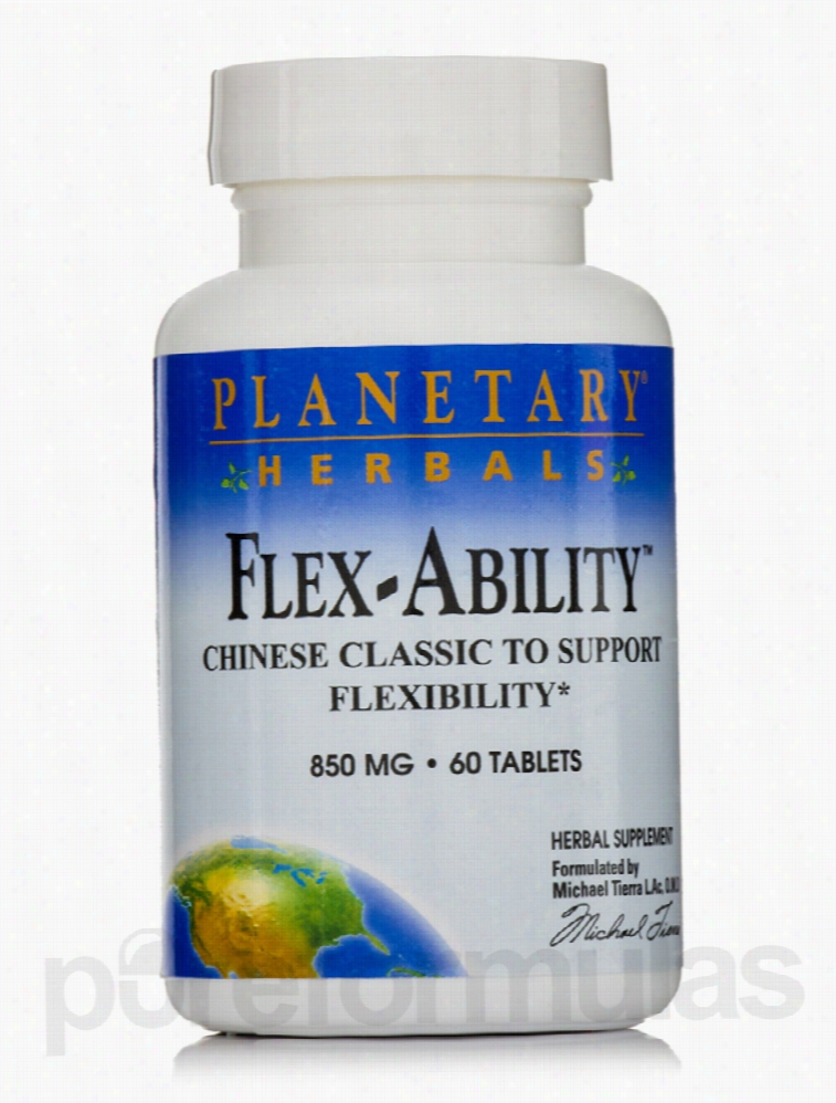 Planetary Herbals Cardiovascular Support - Flex-Ability 850 mg - 60