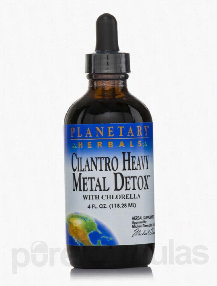 Planetary Herbals Cellular Support - Cilantro Heavy Metal Detox - 4
