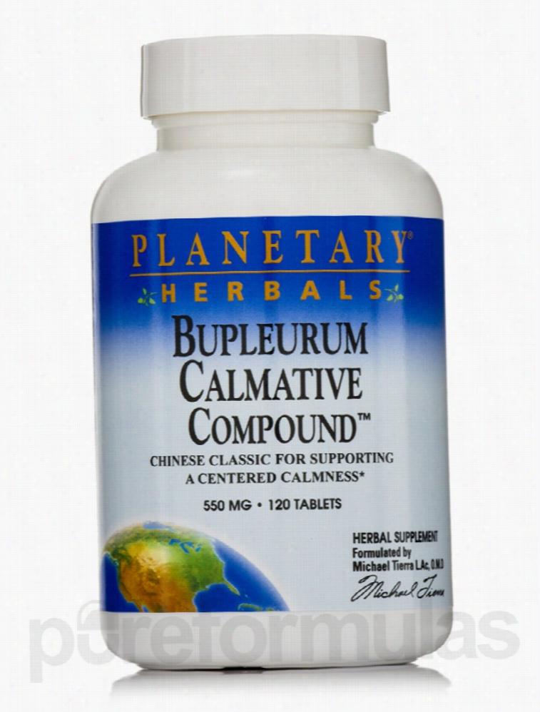 Planetary Herbals Herbals/Herbal Extracts - Bupleurum Calmative