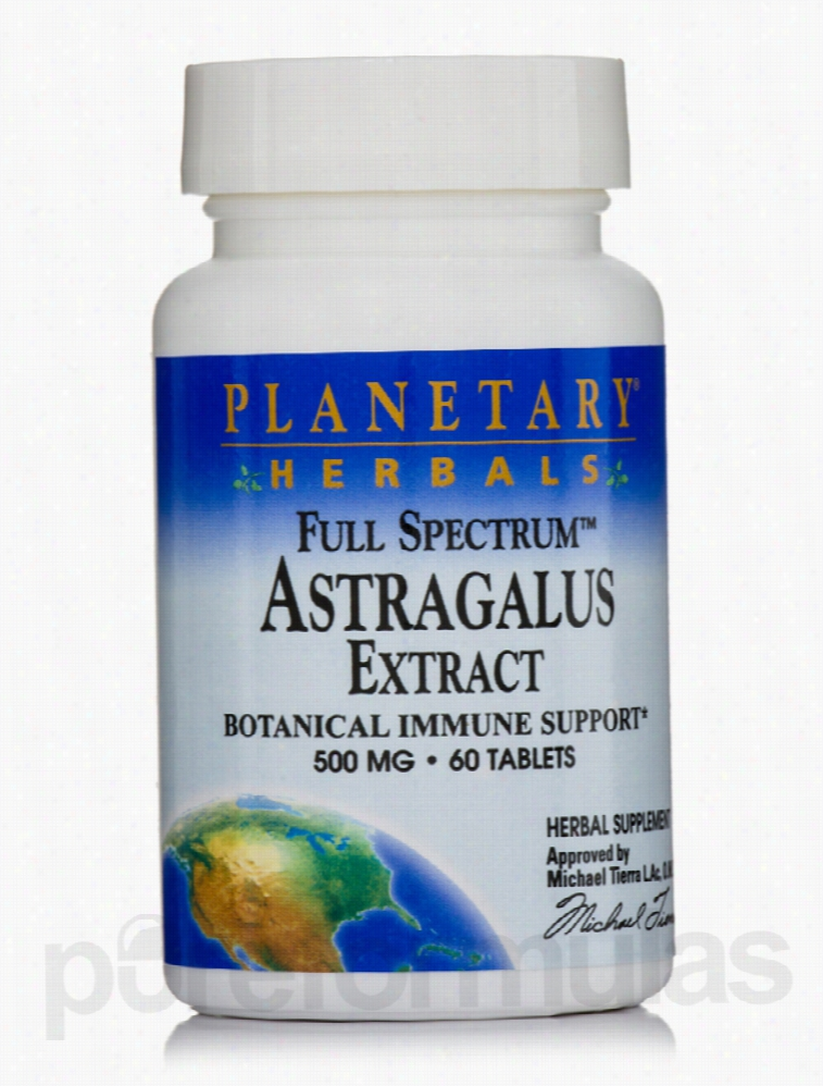 Planetary Herbals Herbals/Herbal Extracts - Full Spectrum Astragalus