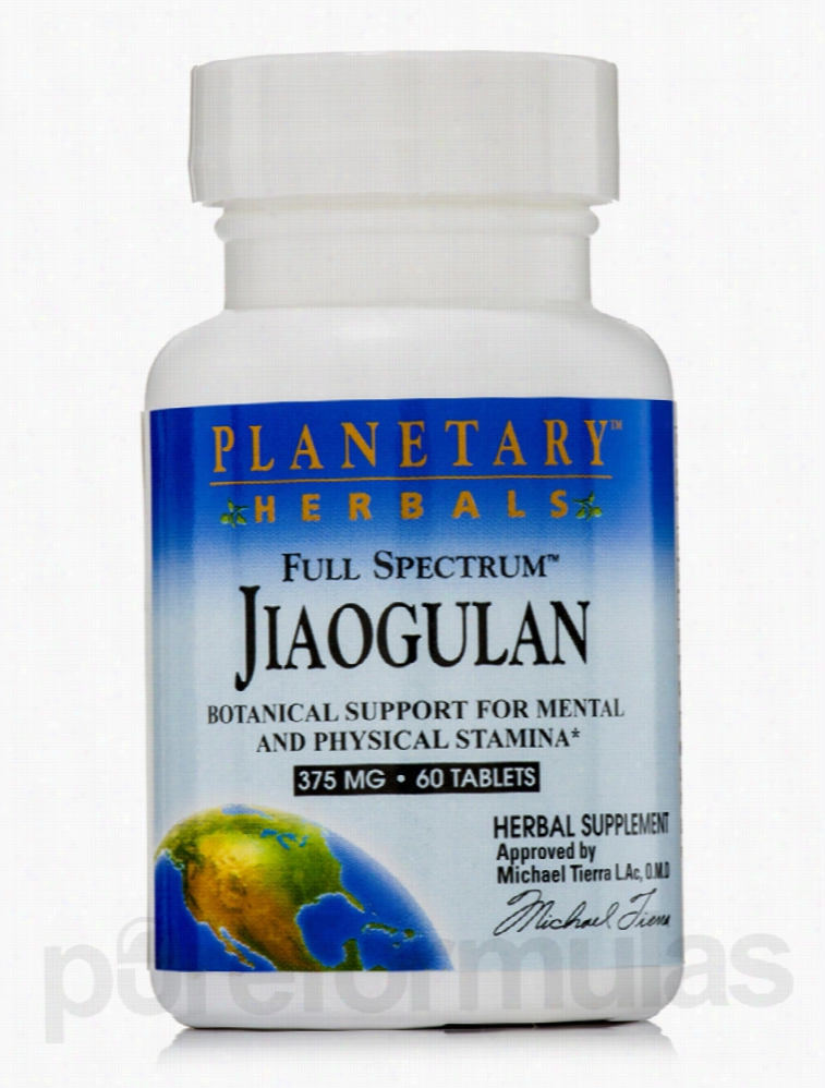 Planetary Herbals Herbals/Herbal Extracts - Full Spectrum Jiaogulan