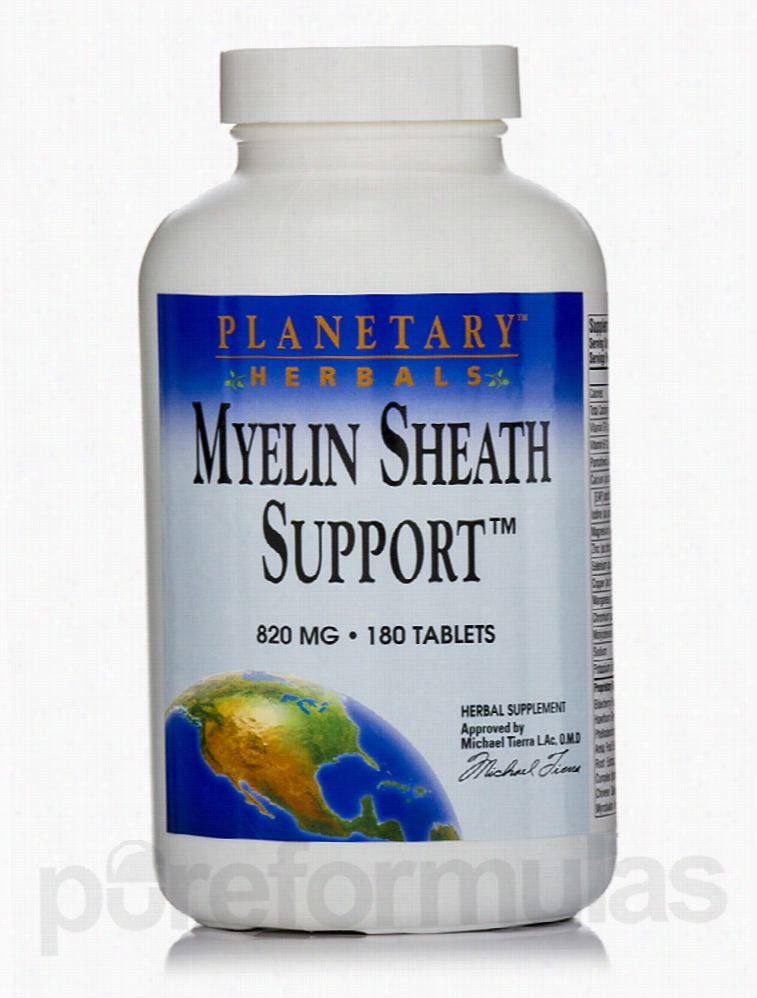 Planetary Herbals Herbals/Herbal Extracts - Myelin Sheath Support 820
