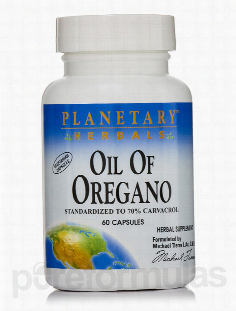Planetary Herbals Herbals/Herbal Extracts - Oil of Oregano - 60