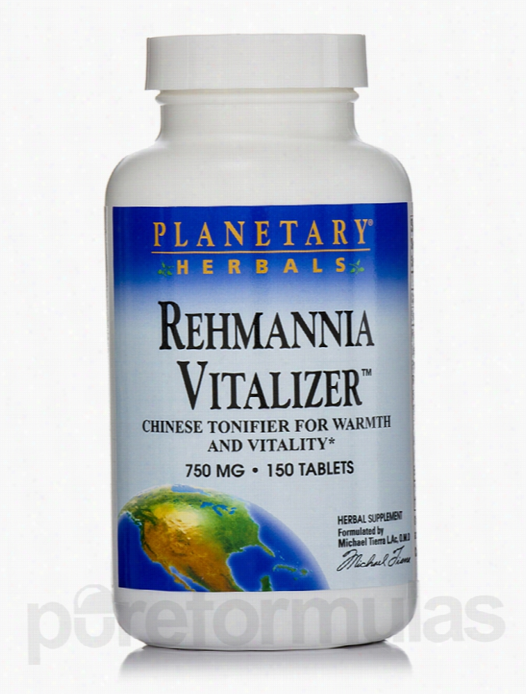 Planetary Herbals Herbals/Herbal Extracts - Rehmannia Vitalizer 750 mg