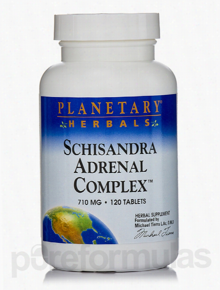 Planetary Herbals Herbals/Herbal Extracts - Schisandra Adrenal Complex