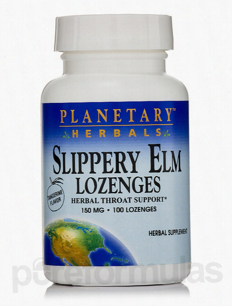 Planetary Herbals Herbals/Herbal Extracts - Slippery Elm Lozenges