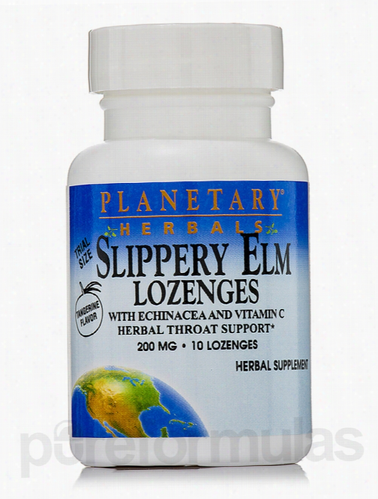 Planetary Herbals Herbals/Herbal Extracts - Slippery Elm Lozenges with