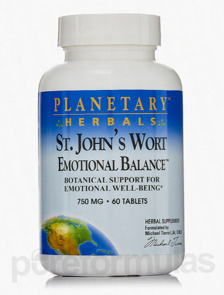 Planetary Herbals Herbals/Herbal Extracts - St. John's Wort Emotional