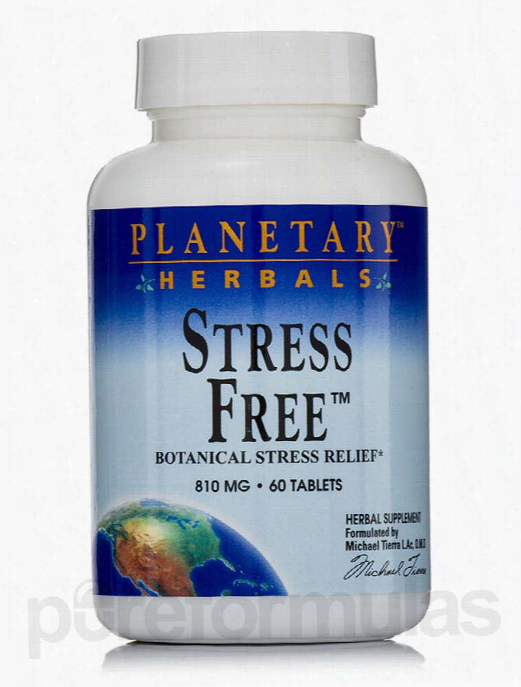 Planetary Herbals Herbals/Herbal Extracts - Stress Free 810 mg - 60