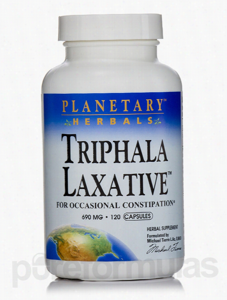 Planetary Herbals Herbals/Herbal Extracts - Triphala Laxative 690 mg -