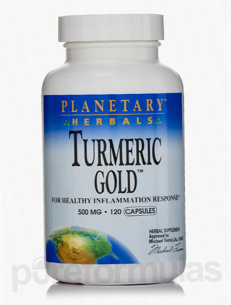 Planetary Herbals Herbals/Herbal Extracts - Turmeric Gold 500 mg - 120