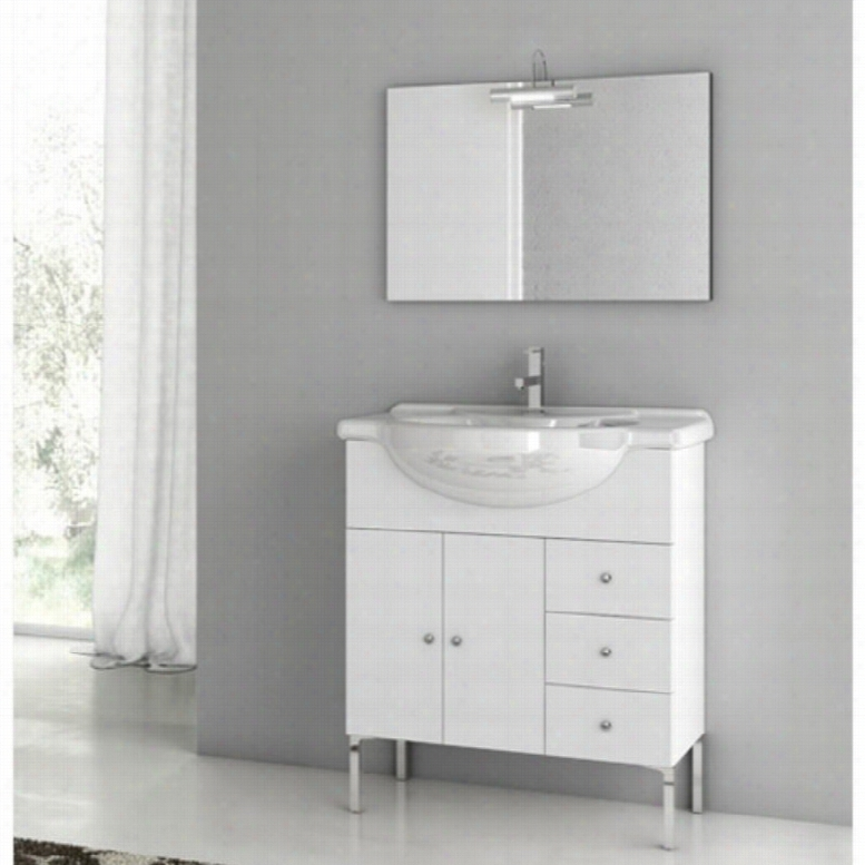 ACF by Nameeks ACF LON01-GW London 32-in. Single Bathroom Vanity Set