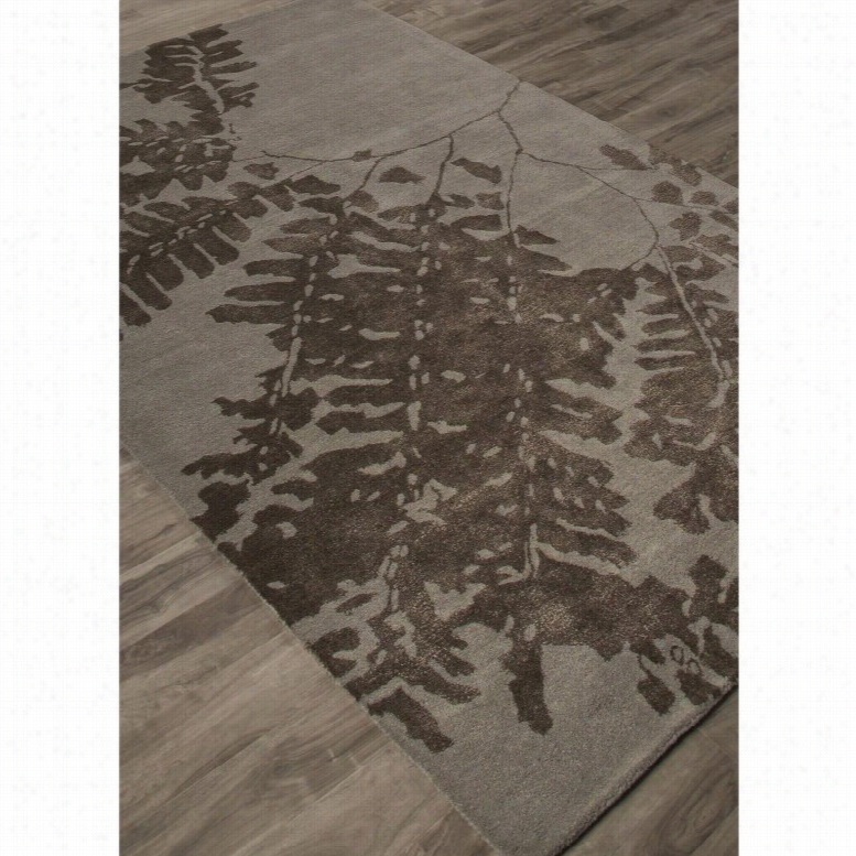 Jaipur Rugs Shadow Umbra Indoor Area Rug Moonless Night, Size: 5 x 8 ft.