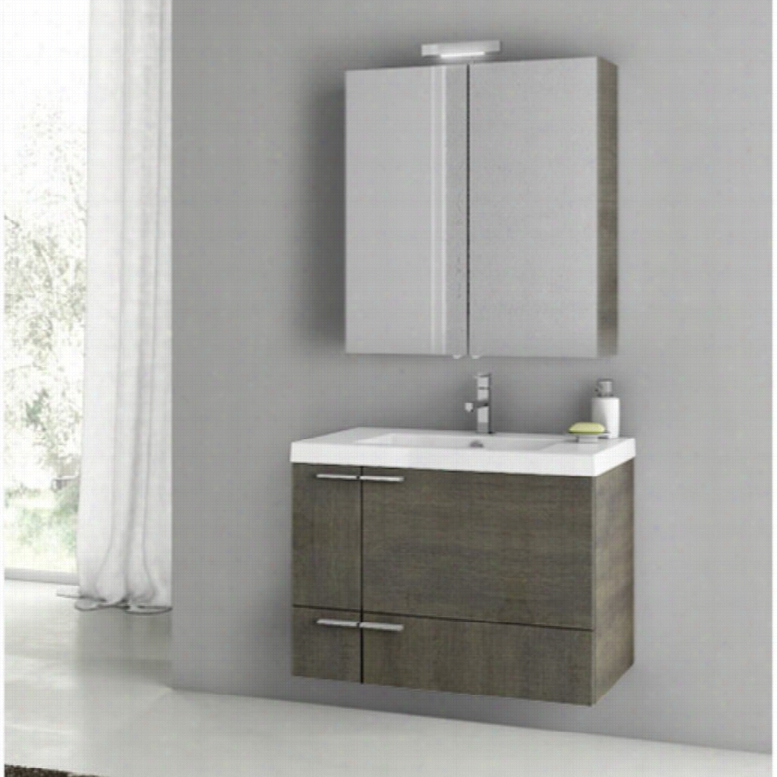 ACF by Nameeks ACF ANS13-GO New Space 31-in. Single Bathroom Vanity Set