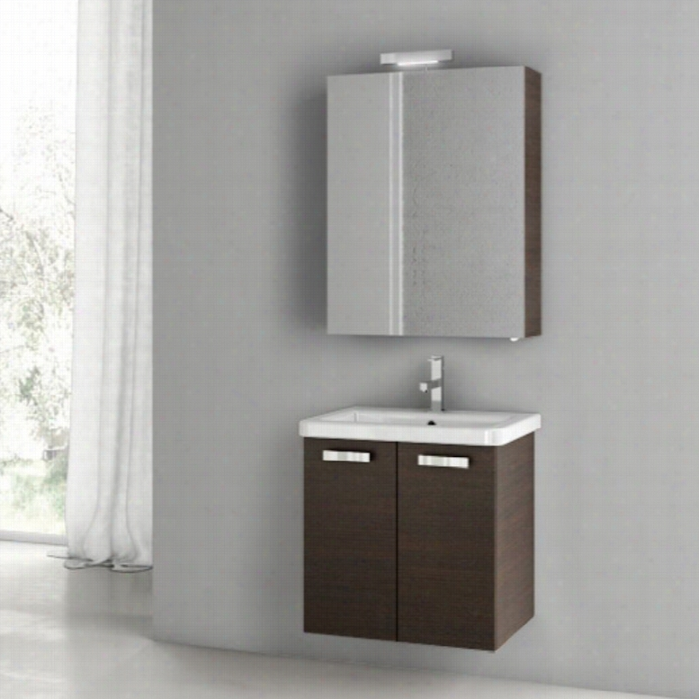 ACF by Nameeks ACF CP05-W City Play 22-in. Single Bathroom Vanity Set