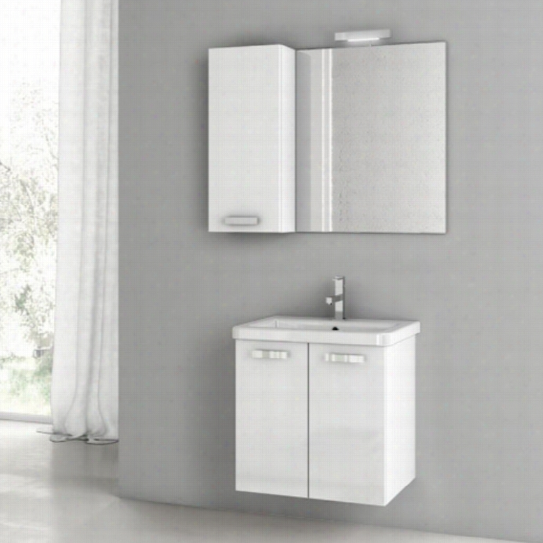 ACF by Nameeks ACF CP06-GW City Play 22-in. Single Bathroom Vanity Set