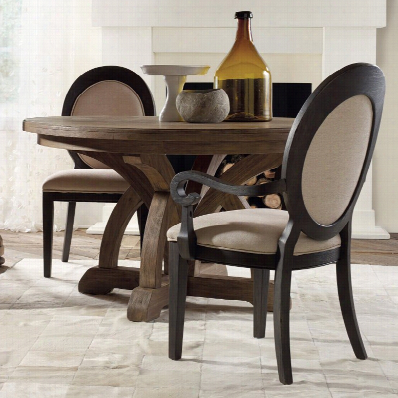 Hooker Furniture Corsica 54 in. Pedestal Dining Table