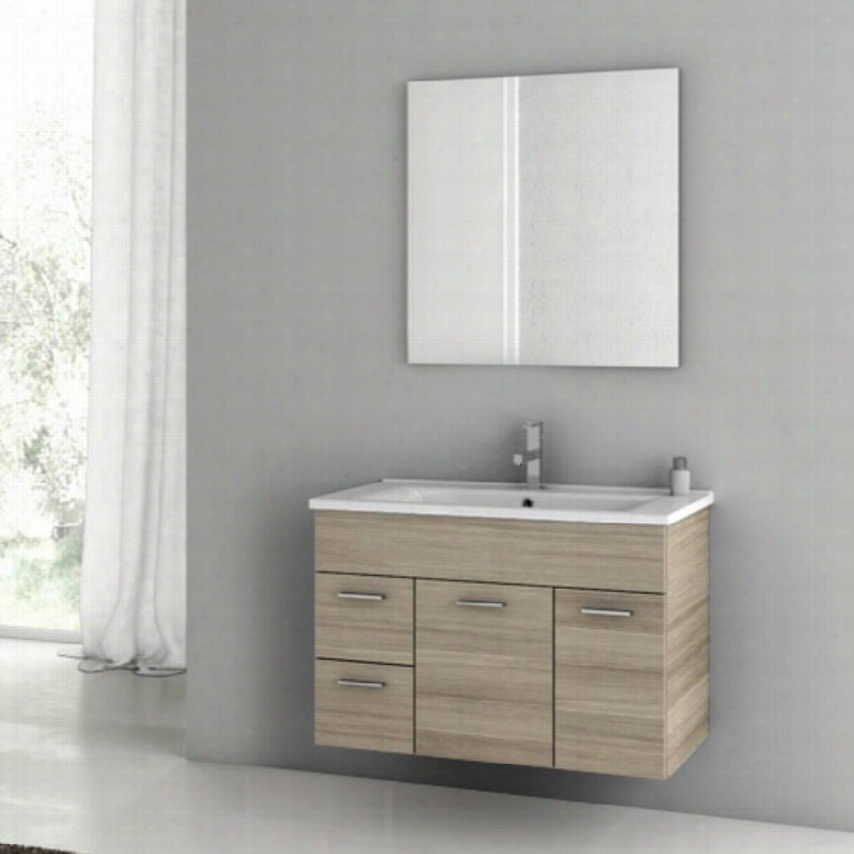 ACF by Nameeks ACF LOR01-LC Loren 33-in. Single Bathroom Vanity Set