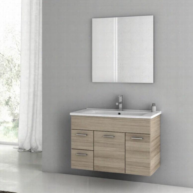ACF by Nameeks ACF LOR01-LC Loren 33-in. Single Bathroom Vanity Set