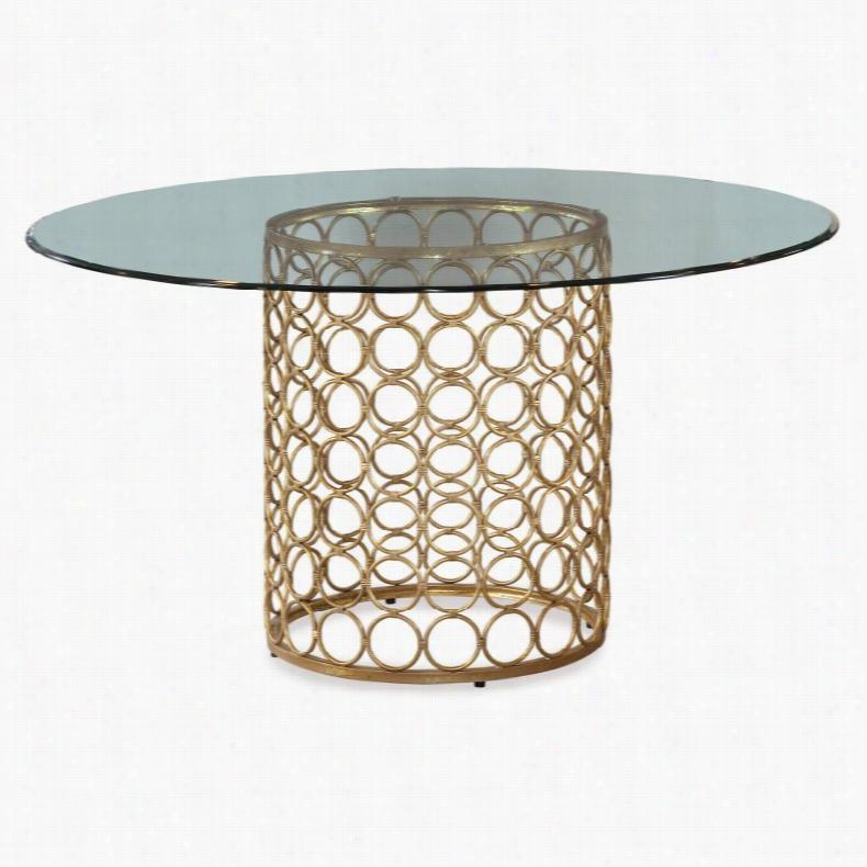 Bassett Mirror Carnaby Dining Table