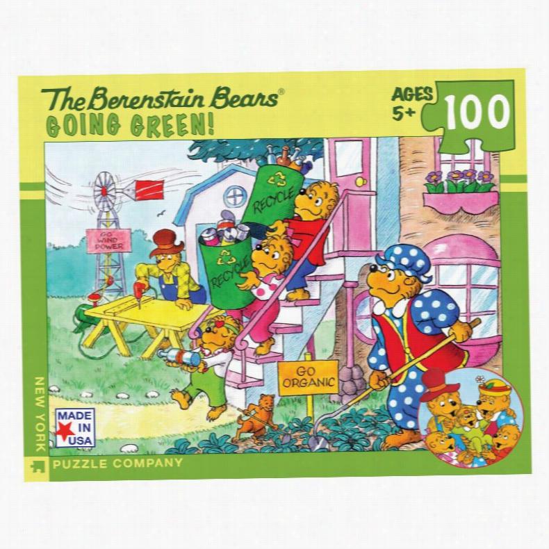 Go Green 100 Piece Jigsaw Puzzle