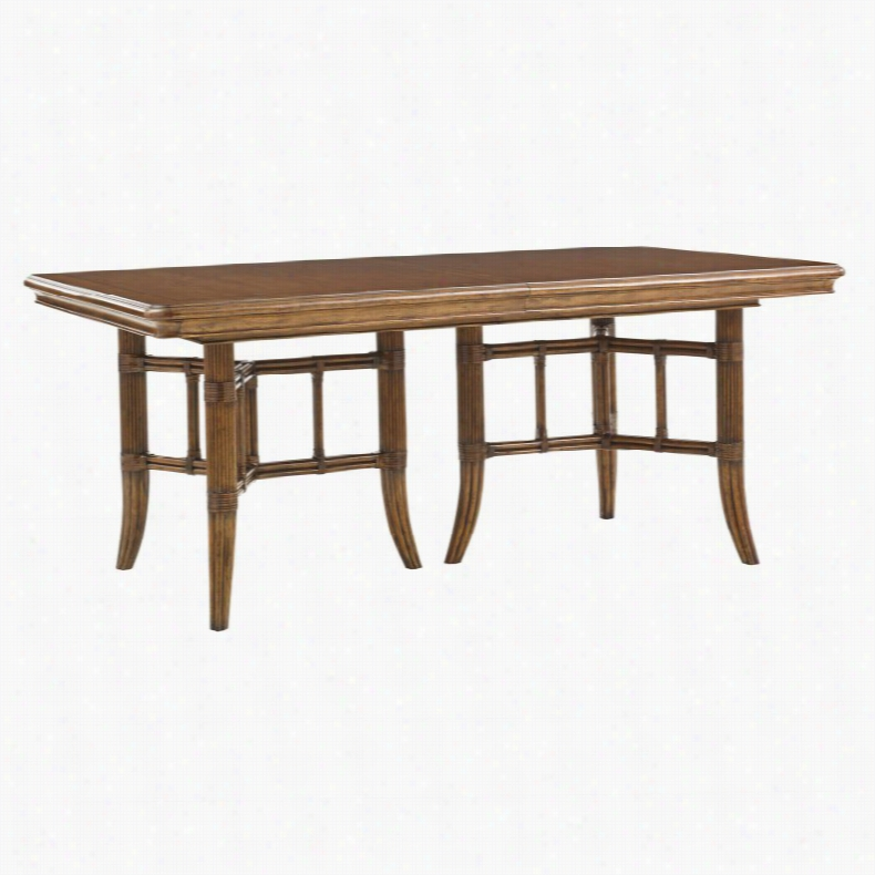 Lexington Home Fischer Island Double Pedestal Dining Table
