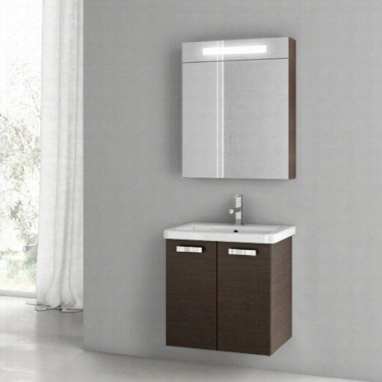 ACF by Nameeks ACF CP03-W City Play 22-in. Single Bathroom Vanity Set