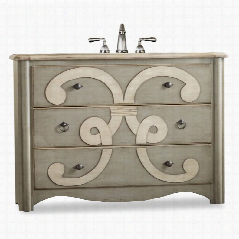 Cole + Co. Designer Series Chamberlain Single Bathroom Vanity White