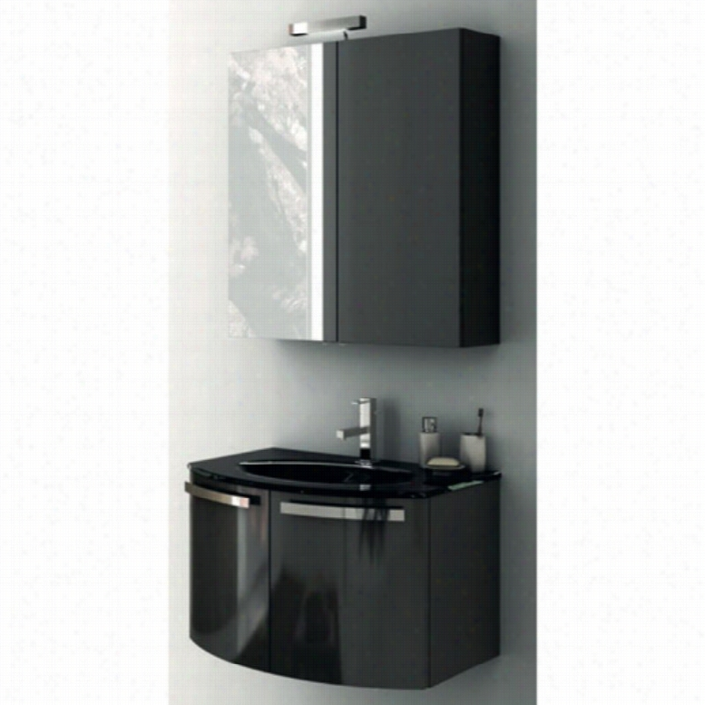 ACF by Nameeks ACF CD02-GA Crystal Dance 28-in. Single Bathroom Vanity Set