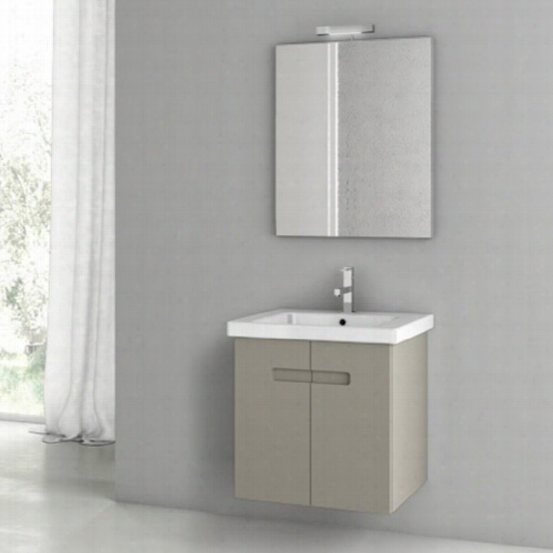 ACF by Nameeks ACF NY01-MC New York 24-in. Single Bathroom Vanity Set