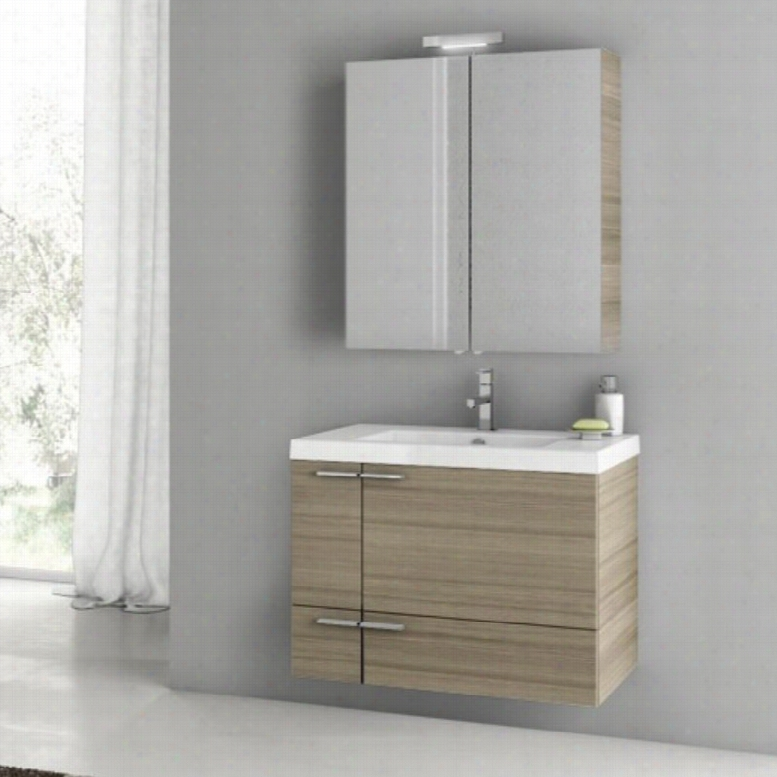 ACF by Nameeks ACF ANS13-LC New Space 31-in. Single Bathroom Vanity Set