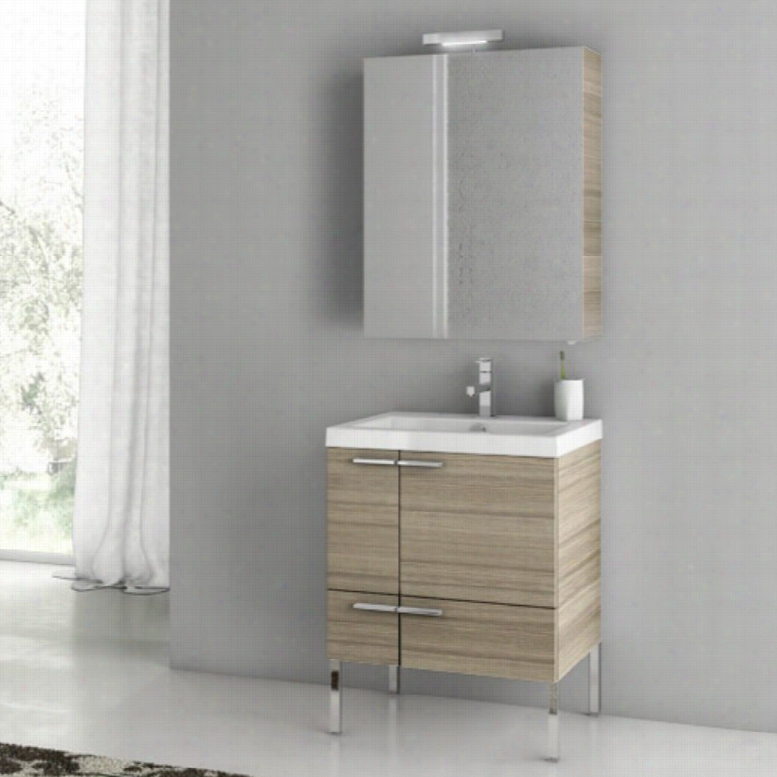 ACF by Nameeks ACF ANS14-LC New Space 23-in. Single Bathroom Vanity Set