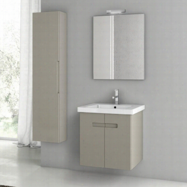 ACF by Nameeks ACF NY09-MC New York 24-in. Single Bathroom Vanity Set