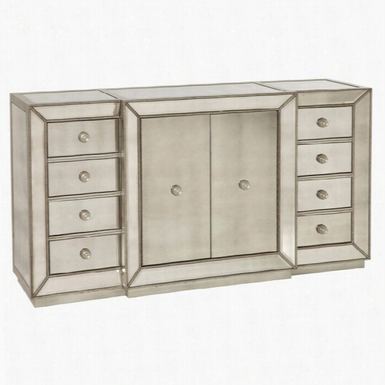 Bassett Mirror Murano 8 Drawer Buffet