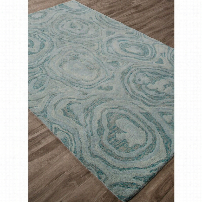 Jaipur Rugs National Geographic Home Collection Gabbro Indoor Area Rug Blue Haze, Size: 5 x 8 ft.