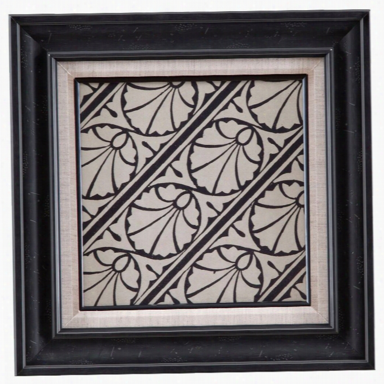 Bassett Mirror Ornamental Tile Motif VI Wall Art