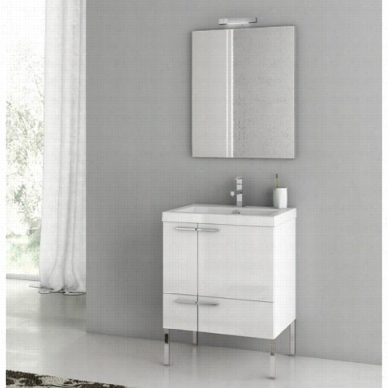 ACF by Nameeks ACF ANS01-GW New Space 23-in. Single Bathroom Vanity Set