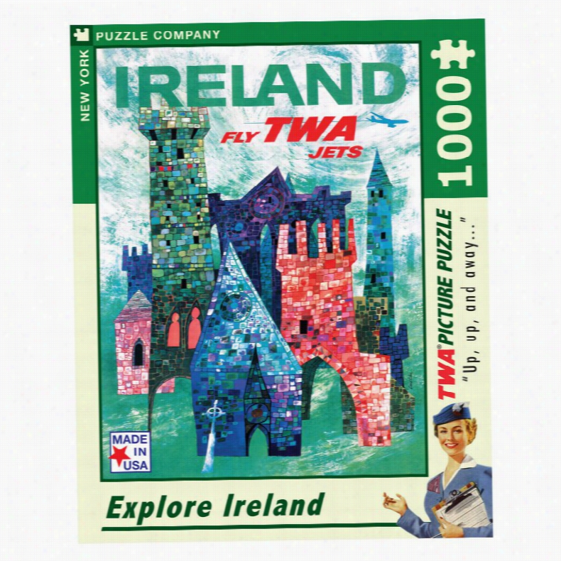 Ireland 1000 Piece Jigsaw Puzzle