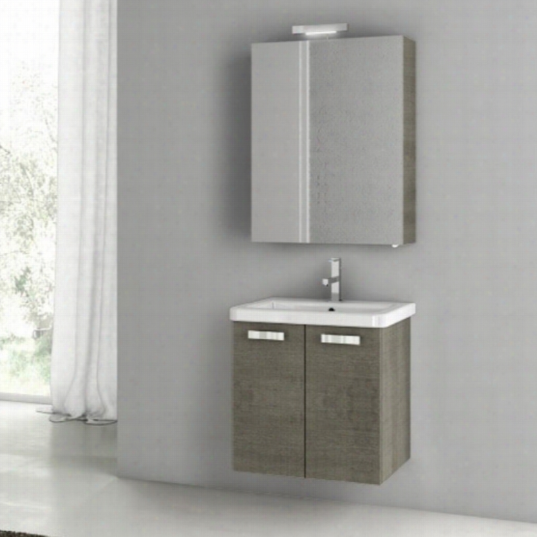 ACF by Nameeks ACF CP05-GO City Play 22-in. Single Bathroom Vanity Set