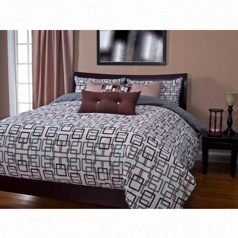SIS Covers Edgewater Sand Duvet Set, Size: California King