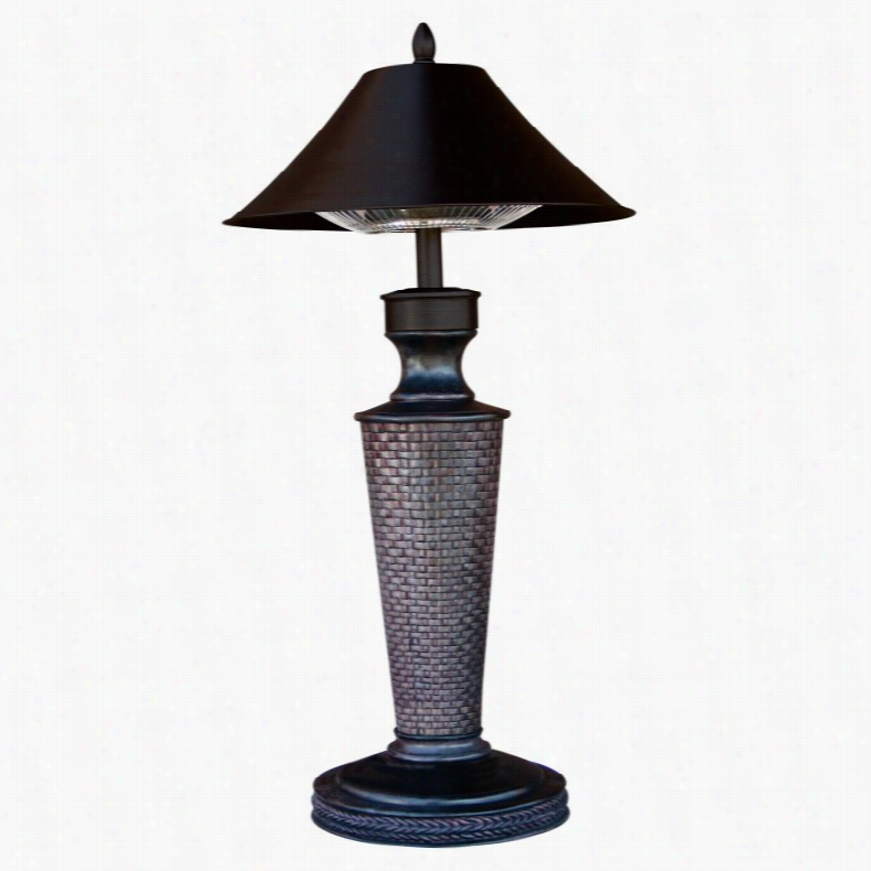 Vacation Day Table Lamp Electric Outdoor Heater